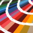 ral sample colors catalogue — Stock Photo
