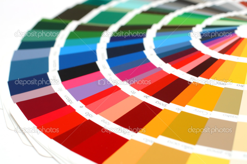 RAL sample colors catalogue — Stock Photo © Kokhanchikov ...