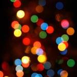 Defocused color lights — Stock Photo #1770923
