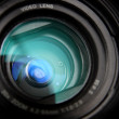 Video camera lens close-up — Stock Photo #1879699