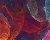 Abstract fantastic multicolor fractal — Stock Photo