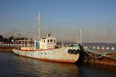 Inshore boat — Stock Photo