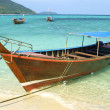 Stock Photo: Boats in Andamsea