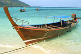Boats in Andaman sea — Photo