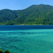 Panoramic view of tropical island — Stock Photo