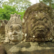 Statues of Angkor temple complex — Stock Photo