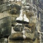 Face of Bayon temple — Stock Photo