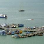 Port of Pattaya city — Stock Photo