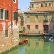 Stock Photo: Buildings and channels in Venice
