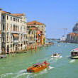 Stock Photo: Grand Channel in Venice