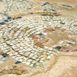 Fragment of ancient mosaic — Stock Photo