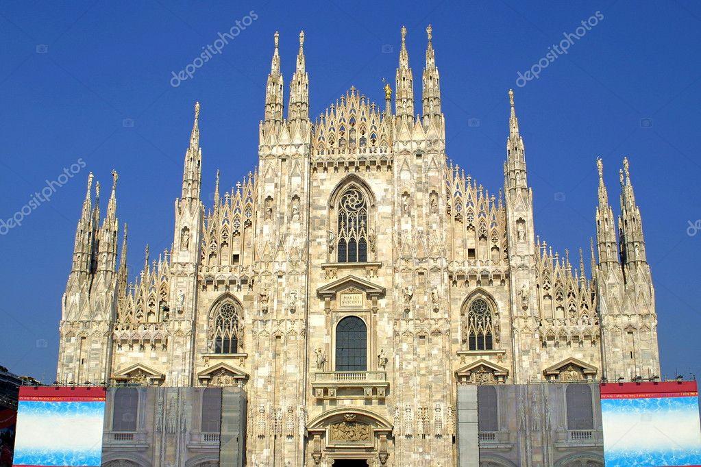 The stunning Duomo di Milano (Milan Cathedral)