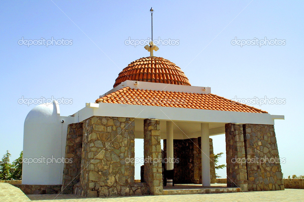 The Tomb of Archbishop Makarios III, Throni, Cyprus — Stock Photo #1109742