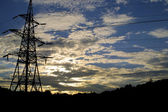 Power transmission line — Stock Photo