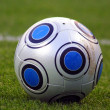 Close-up soccer ball - Stock Photo