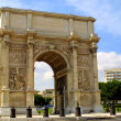Triumphal Arch in Marseille - Stock Photo