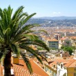 Bird view panorama of Nice — Stock Photo
