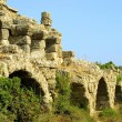Ancient roman aqueduct — Stock Photo