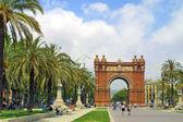 Arc de Triomphe in Barcelona — Stock Photo