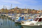 Puerto de marsella — Foto de Stock