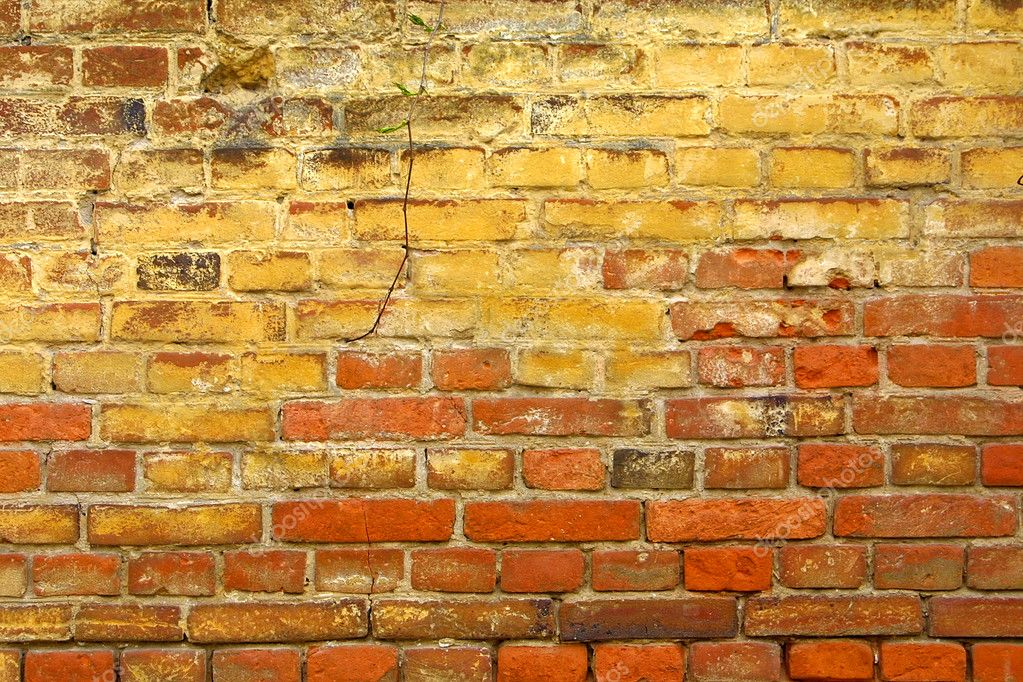 Close-up ancient brickwall background — Stock Photo #1123571