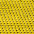 Yellow empty stadium seats — Stock Photo #1138482