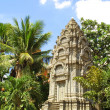 Stock Photo: Khmer temple