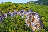 Grand canyon nelle montagne della Crimea — Foto Stock