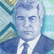 Portrait of Turkmenistan President - Foto Stock