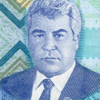Постер, плакат: Portrait of Turkmenistan President