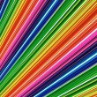 Stock Photo: Abstract rainbow lines