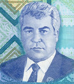 Portrait of Turkmenistan President — Stock Photo