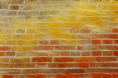Abstract ancient brickwall background — Stock Photo