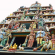 Sculptures of Hindu Temple - Foto Stock
