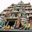 Stock Photo: Sculptures of Hindu Temple