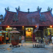 chinese temple in georgetown, malaysia — Stock Photo
