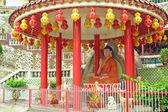 Statue of Buddha in Chinese Temple — Stock Photo