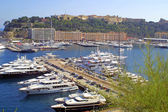 Luxury yachts in Monte-Carlo — Stock Photo