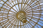 Cúpula de vidrio del círculo — Foto de Stock