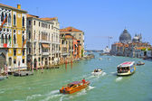 Grand Channel in Venice — Stock Photo