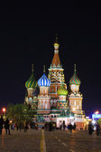 St.Basil's Cathedral in night — Stock Photo