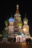 St.Basil's Cathedral in Moscow — 图库照片
