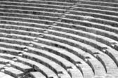 Fragment of ancient greek theater — Stock Photo