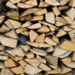 Cracked firewood - Stock Photo