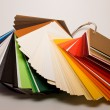 Colored papers - Stock Photo