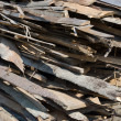 Stock Photo: Sawed wood
