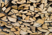 Cracked firewood — Stock Photo