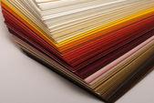 Colored paper — Stock Photo