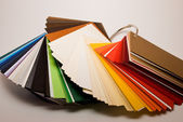 Colored papers — Stock Photo
