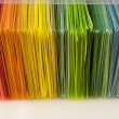 Stock Photo: Various color paper